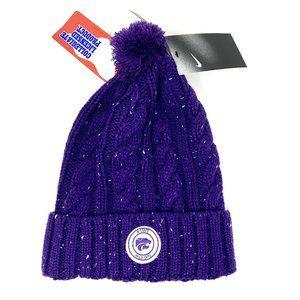 Nike Kansas State Wildcats Cuffed Knit Hat Beanie